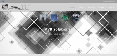 Webpräsenz AVB  Webpräsenz AVB avb web 400x193  Show it avb web 400x193