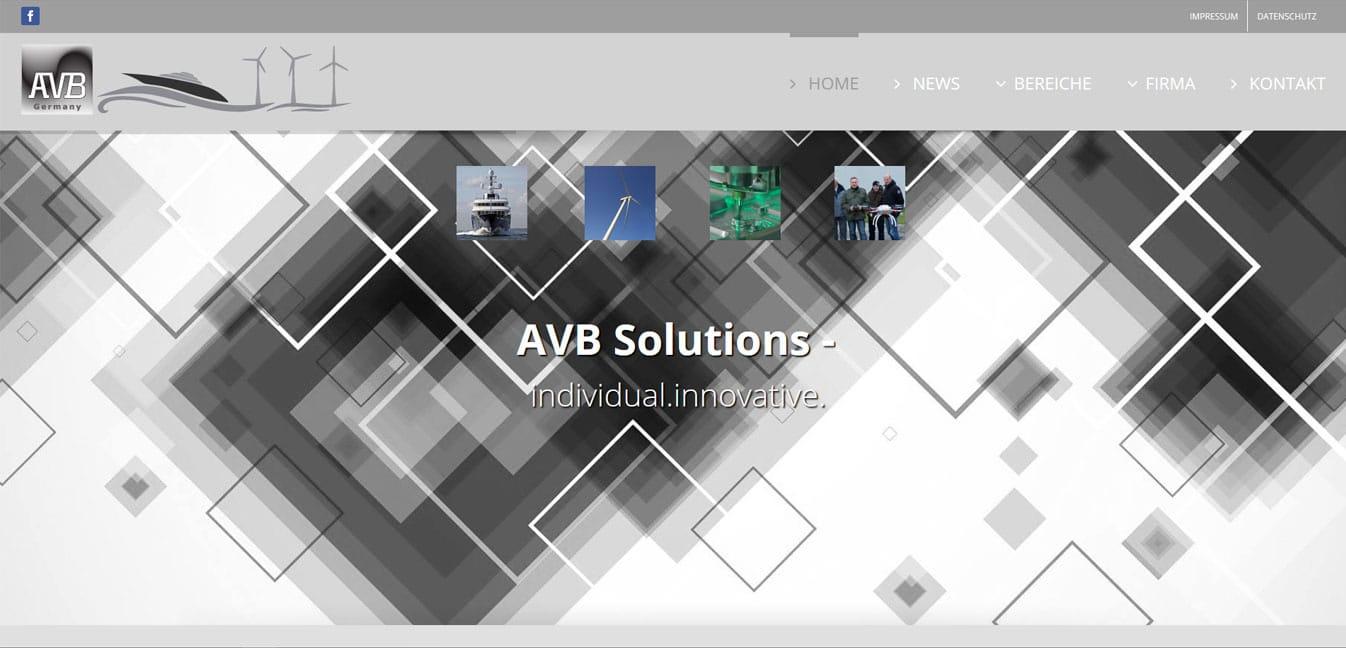 Webpräsenz AVB  Webpräsenz AVB avb web  Show it avb web