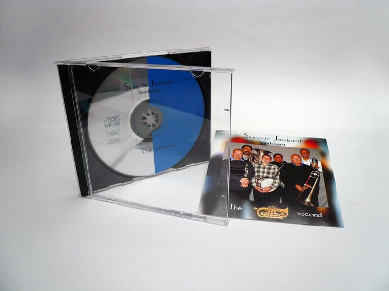 CD Artwork Storyville Jazzband cd story 1  Show it cd story 1