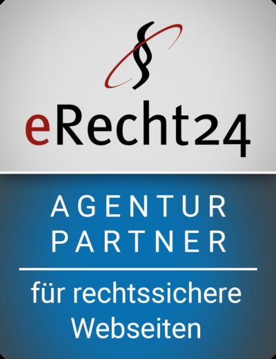 Wir sind Agenturpartner von eRecht24 erecht24 siegel agenturpartner blau gross 400x521  Update it erecht24 siegel agenturpartner blau gross 400x521