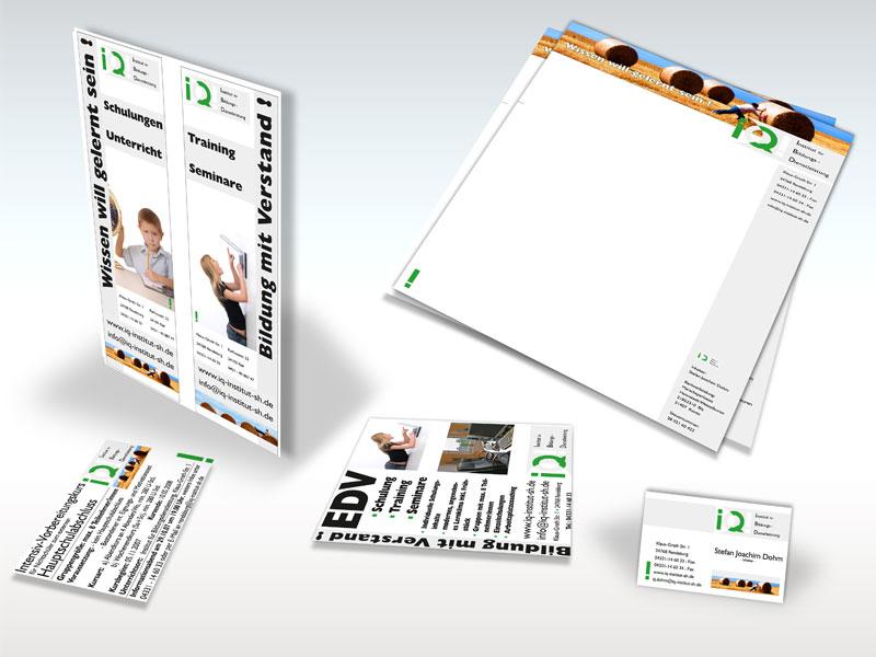Corporate Design IQ Institut form it corp iq2  Show it form it corp iq2