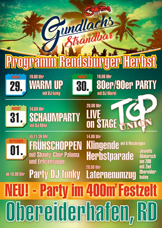 Plakat Gundlachs Rendsburger Herbst Plakat Gundlachs Rendsburger Herbst gundlachs rd herbst 19 Update it gundlachs rd herbst 19