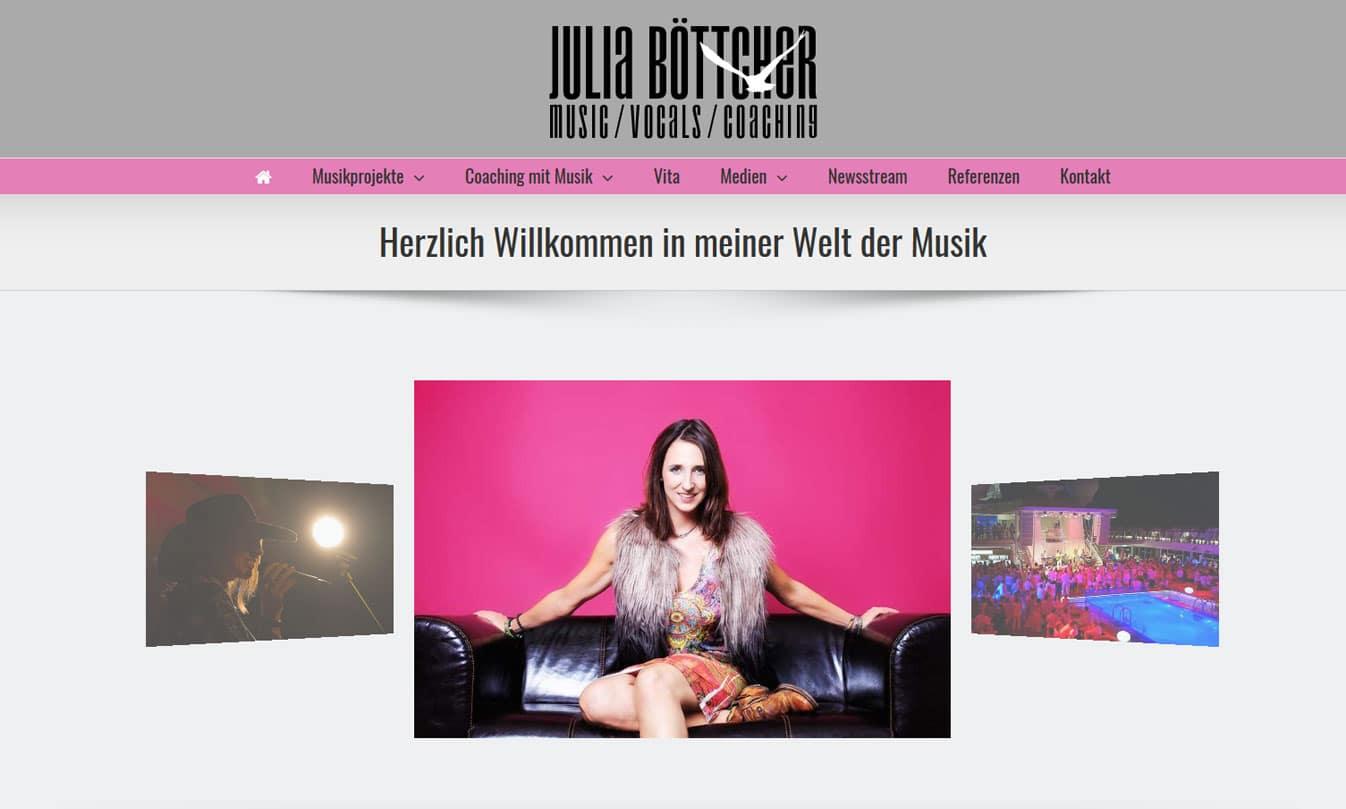 Webpräsenz Julias Traumzeit julias web  Show it julias web