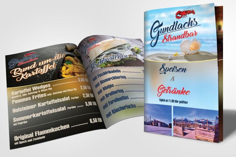Speise- und Getränkekarte Strandbar karte strandbar  Show it karte strandbar