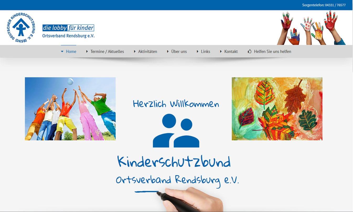 Webpräsenz Kinderschutzbund Rendsburg e.V. kinderschutzbund rd  Show it kinderschutzbund rd