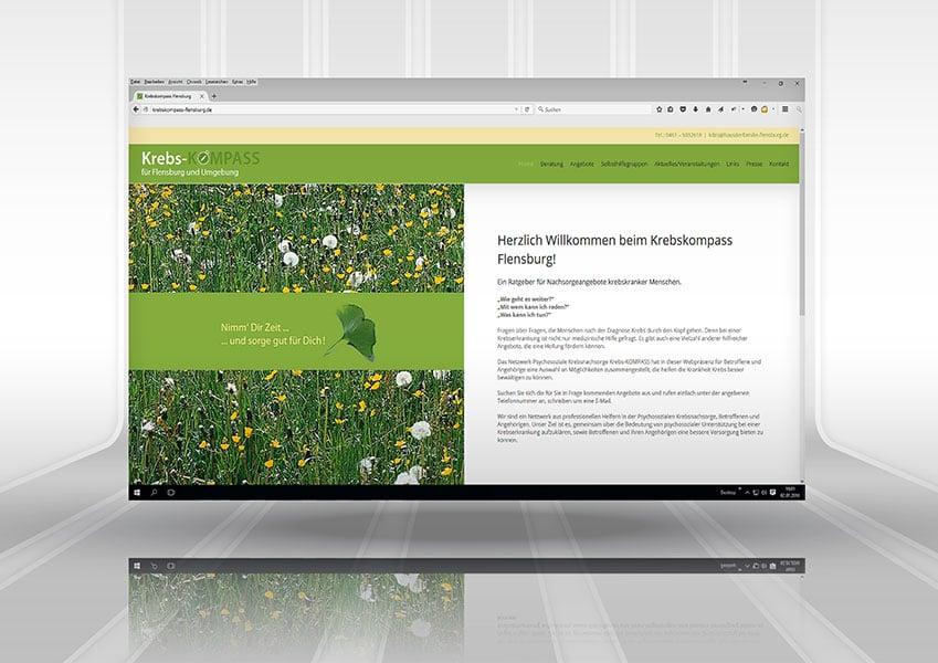Webpräsenz Krebskompass Flensburg krebskompass a3  Show it krebskompass a3
