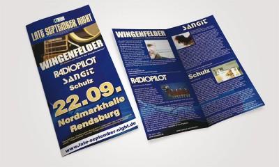 Flyer Late September Nights lateseptember 1 400x240  Show it lateseptember 1 400x240