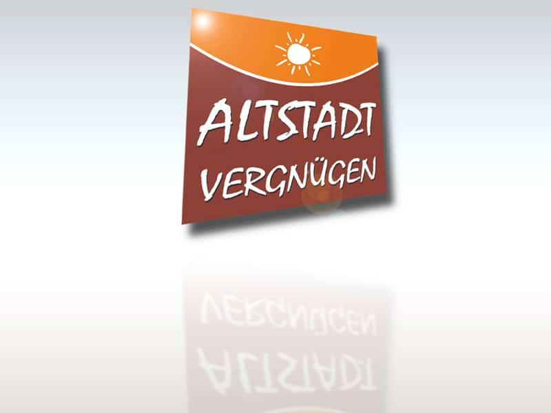 Logodesign Altstadtvergnügen lt altstadt  Show it lt altstadt