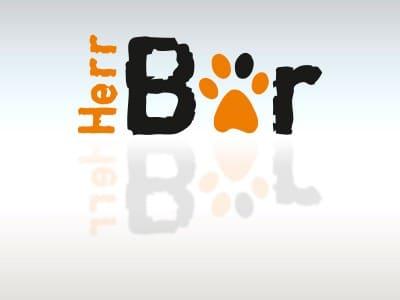 Logodesign Herr Bär lt baer 400x300  Show it lt baer 400x300