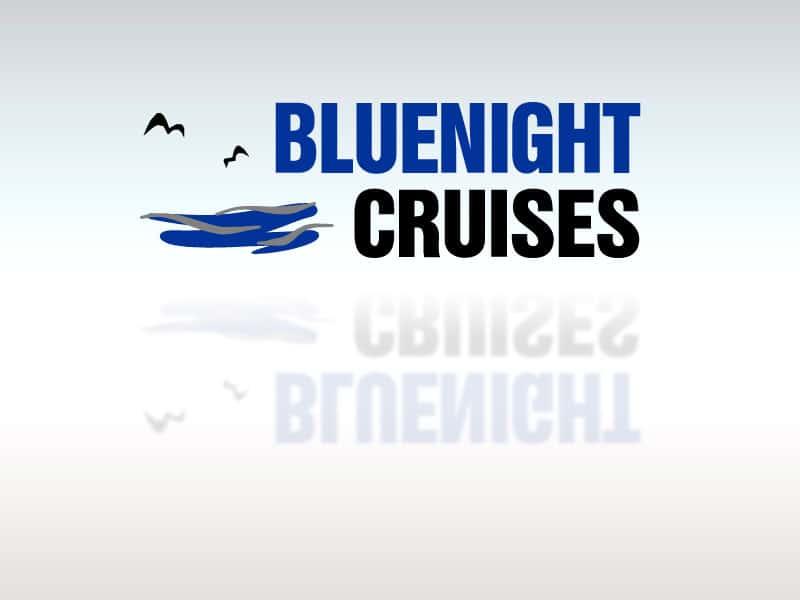 Logodesign Bluenight Cruises lt bluenight  Show it lt bluenight