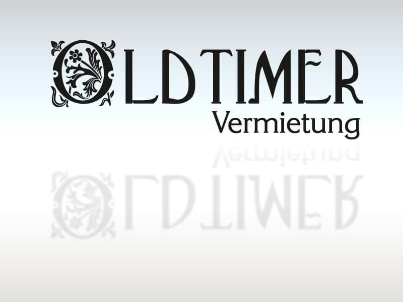 Logodesign Oldtimer Vermietung lt oldtimer  Show it lt oldtimer
