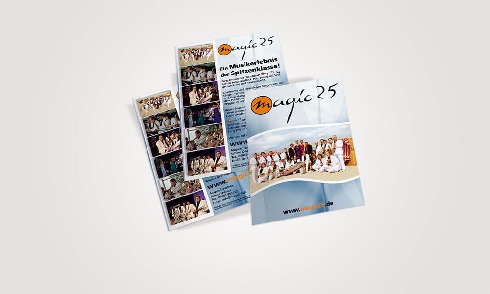 Flyer Magic25 magic25  Show it magic25