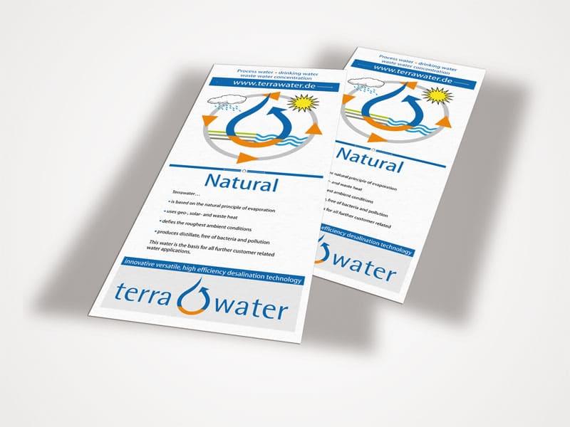 Flyer Terrawater terrawater 1  Show it terrawater 1