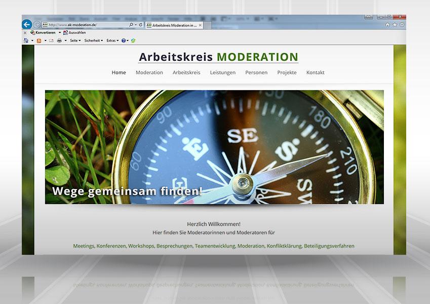 Webdesign AK Moderation web ak  Show it web ak