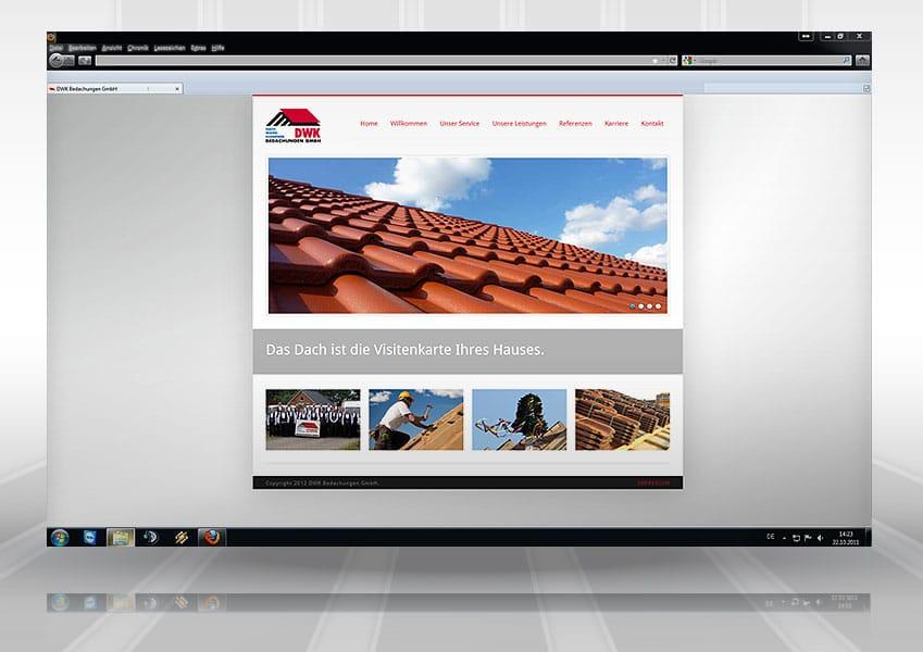 Webpräsenz DWK web dwk  Show it web dwk