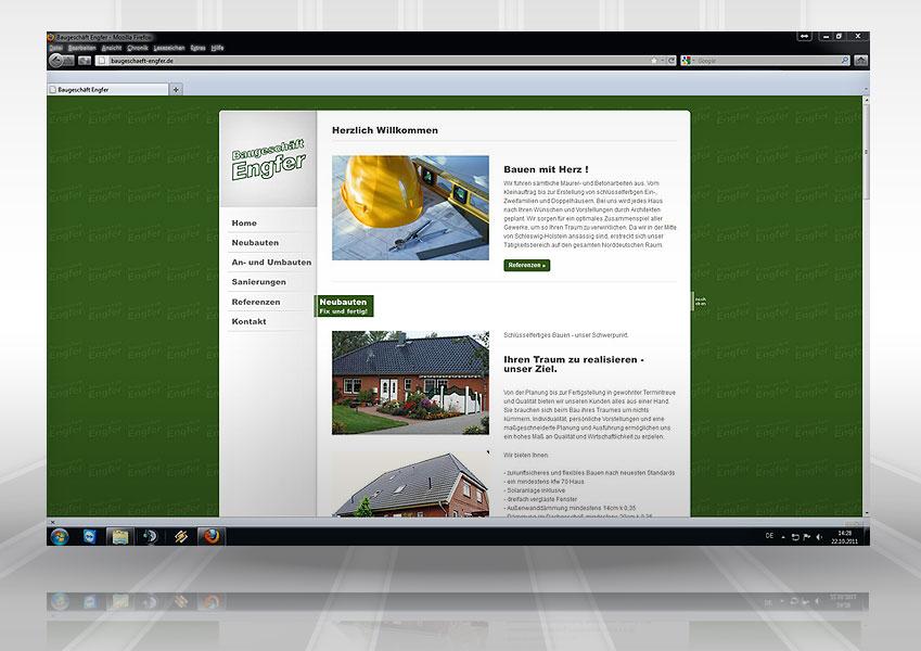 Webpräsenz Engfer web engfer  Show it web engfer