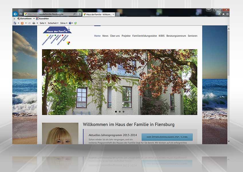 Webdesign Haus der Familie web hdf 1  Show it web hdf 1
