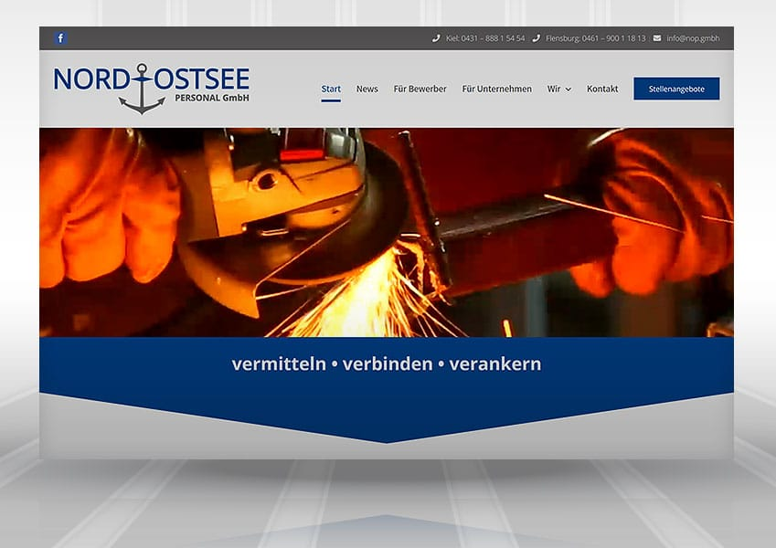 Logo Nord-Ostsee Personal Webdesign Nord-Ostsee-Personal web nop