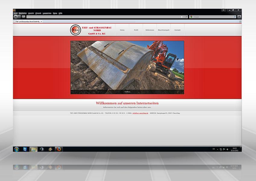 Webdesign TSN web tsn 1  Show it web tsn 1