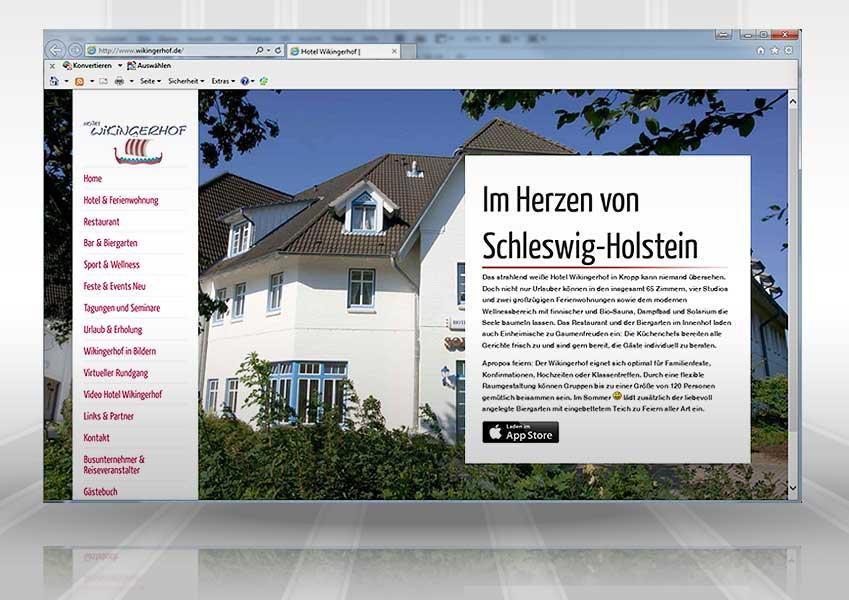 Webpräsenz Wikingerhof web wikingerhof2  Show it web wikingerhof2
